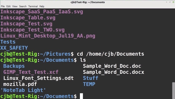 A nice video introduction to the Linux terminal