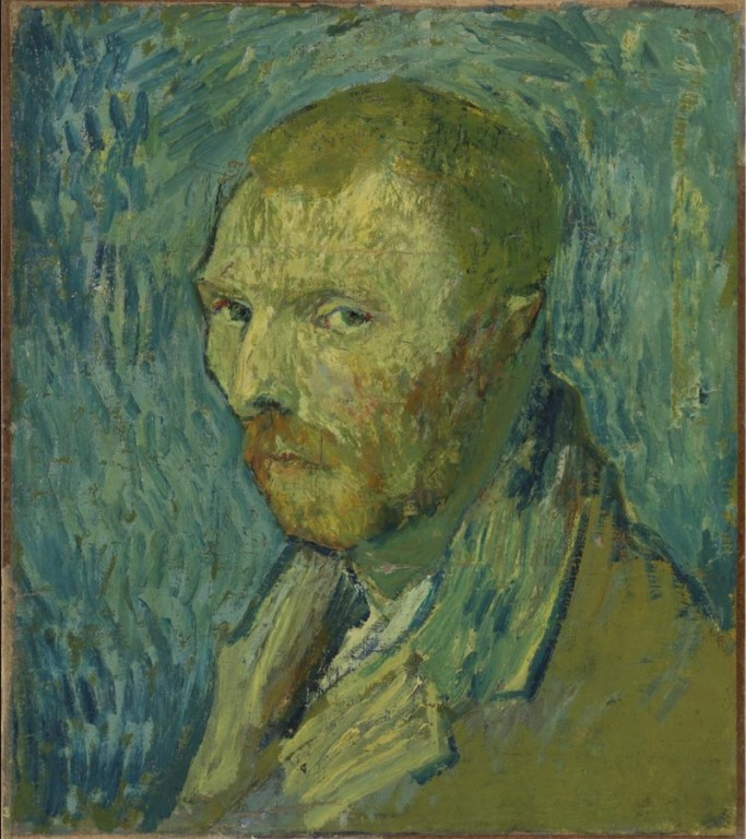 Self-portrait of van Gogh during psychotic episode, thought to have been a fake, deemed real