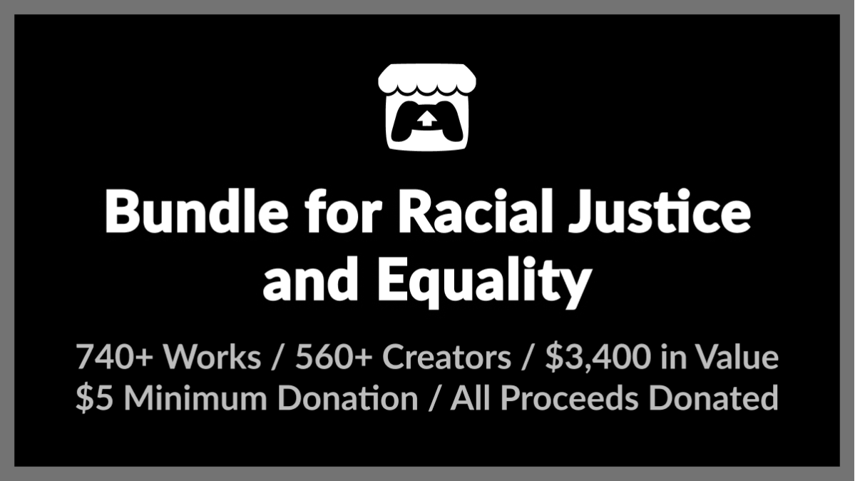 Indie game bundle for Racial Justice and Equality comes with more than 740 titles