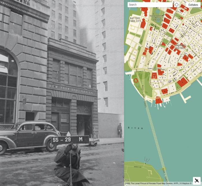 Explore Nyc In The 1930s And 1940s With This Street View Photo Map Boing Boing