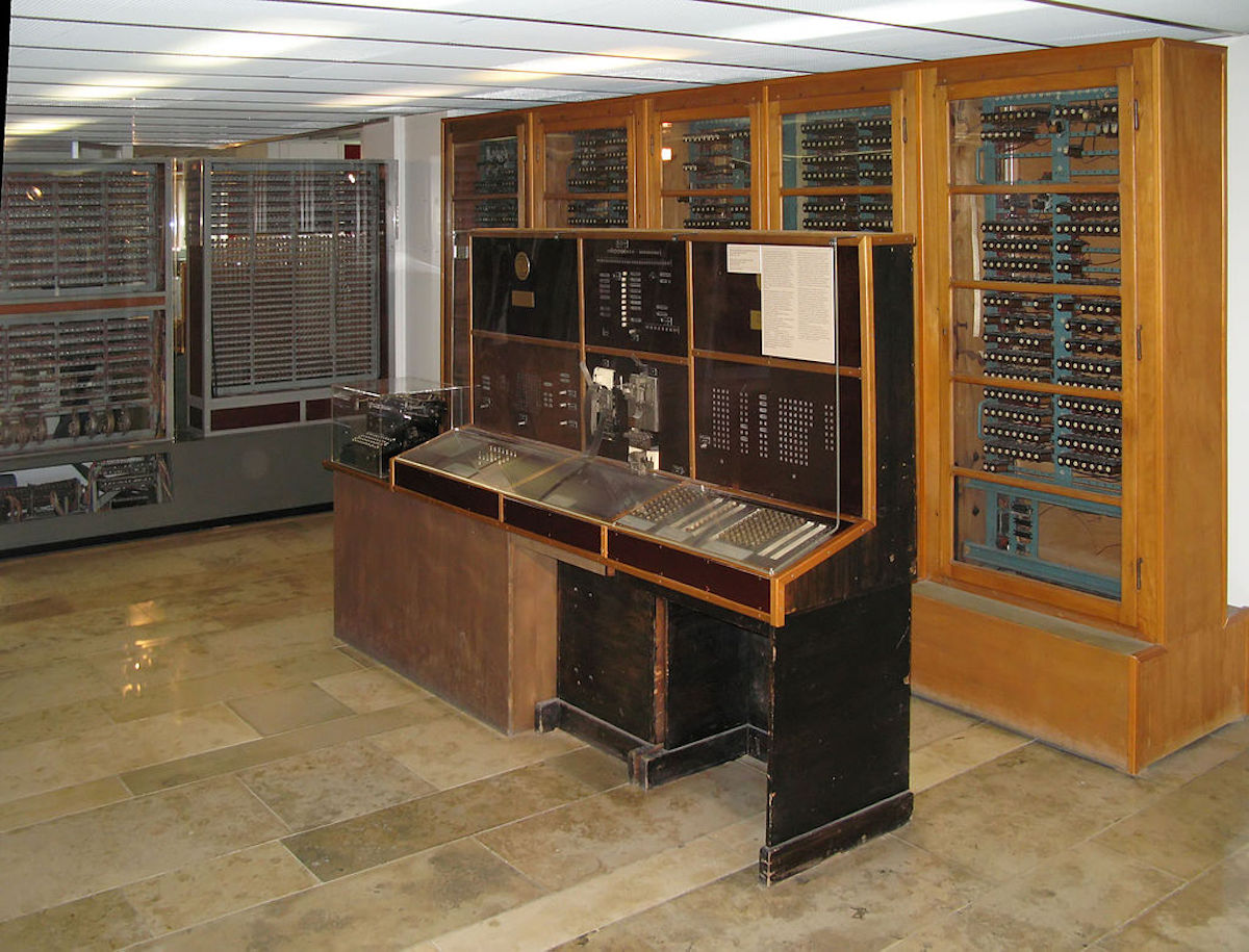 Missing manual for world's oldest surviving computer found   Boing Boing