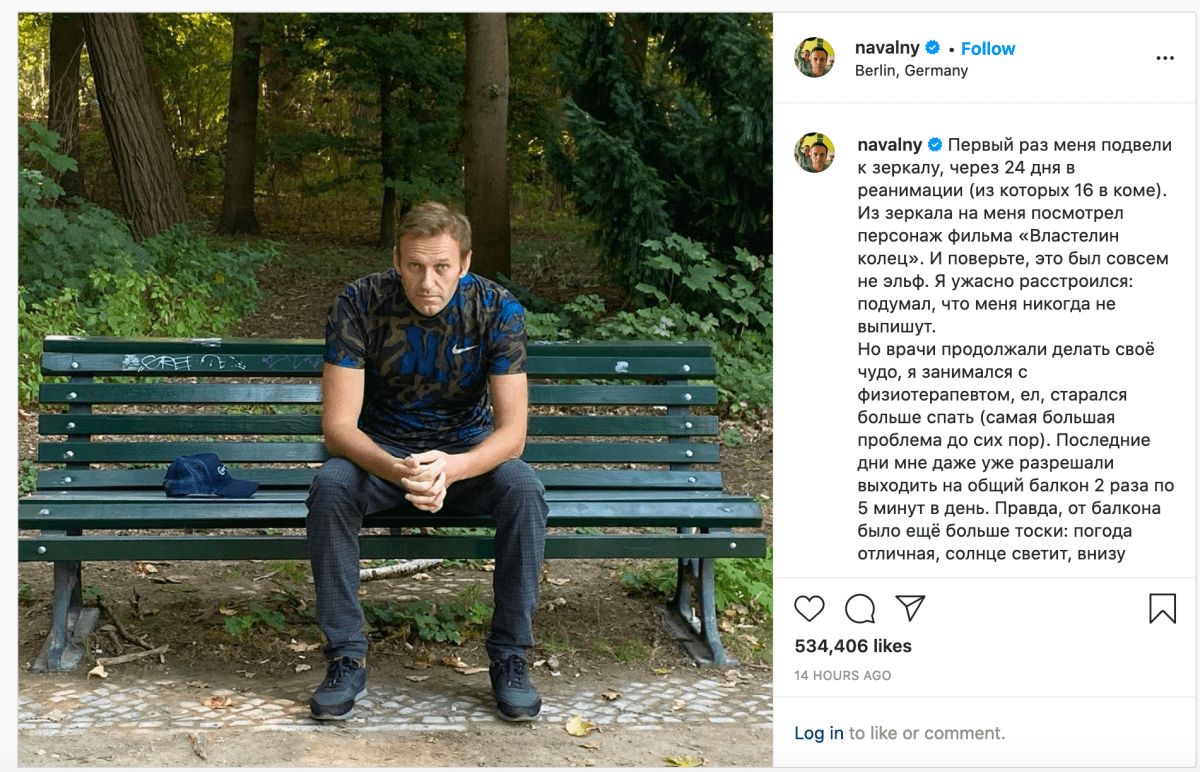 Alexei Navalny leaves Berlin hospital one month after Novichok poisoning in Russia | Boing Boing
