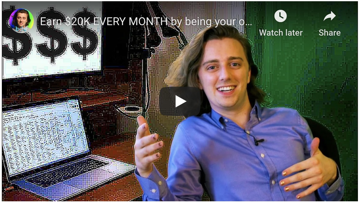 """A horror story: """"Earn $20K EVERY MONTH by being your own boss"""""""