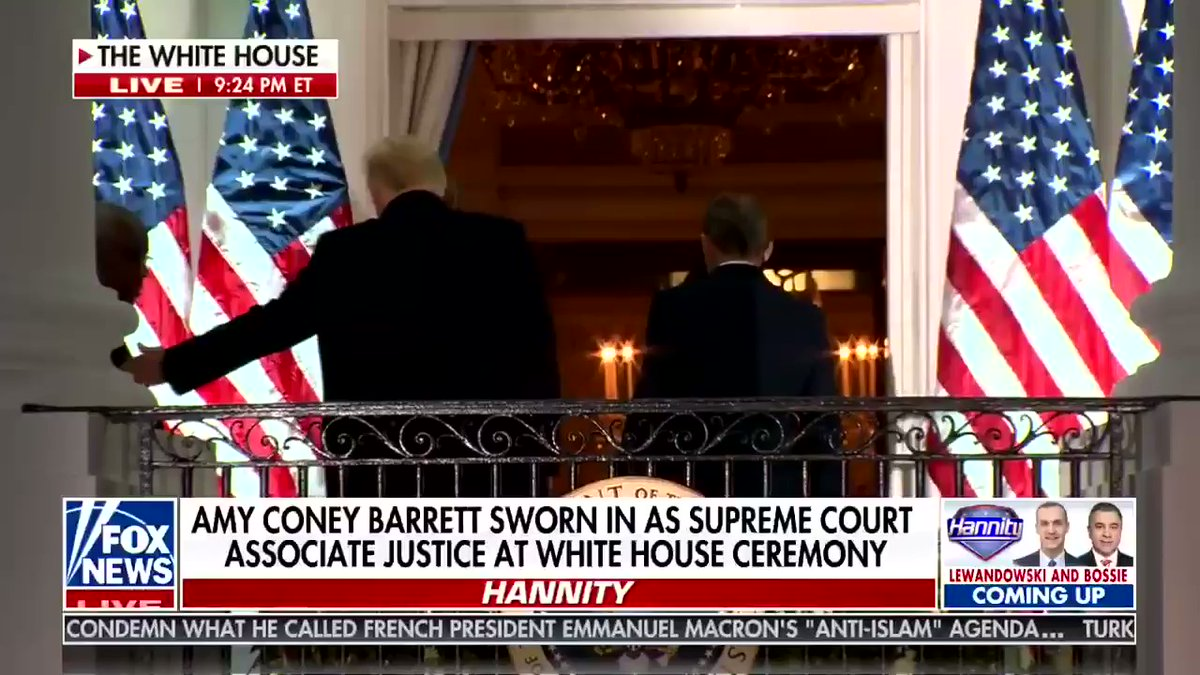 Lindsey Graham on Amy Coney Barrett: 'She is now on the court. Mission accomplished.'