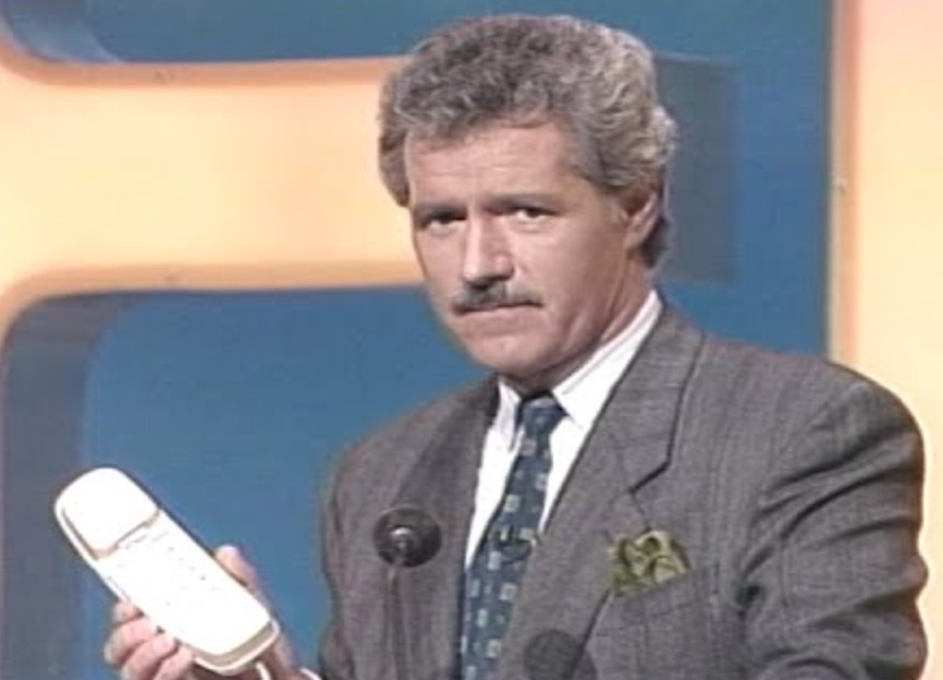 Watch Alex Trebek's cursing outtakes from Jeopardy! promotional clips