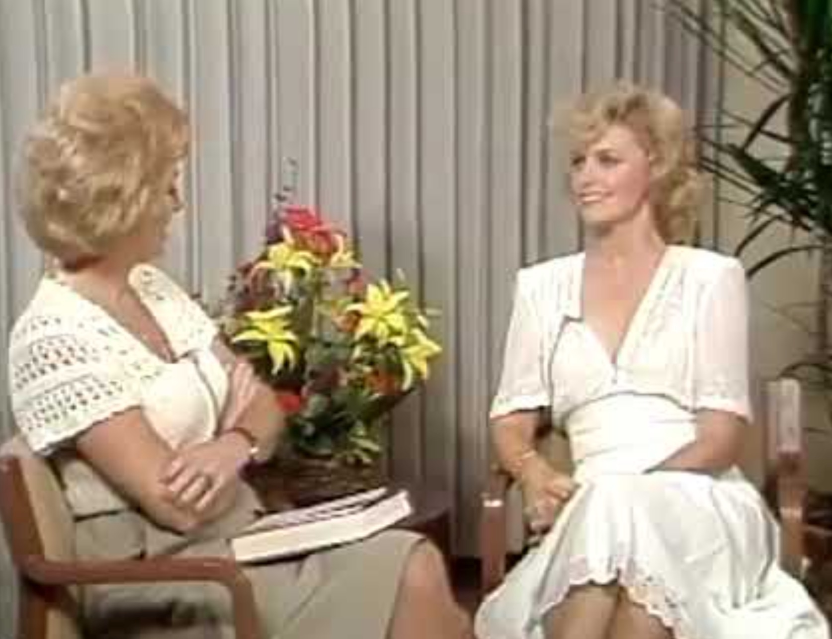 Watch this Nebraska broadcaster's hilariously awkward and direct 1980s celebrity interviews