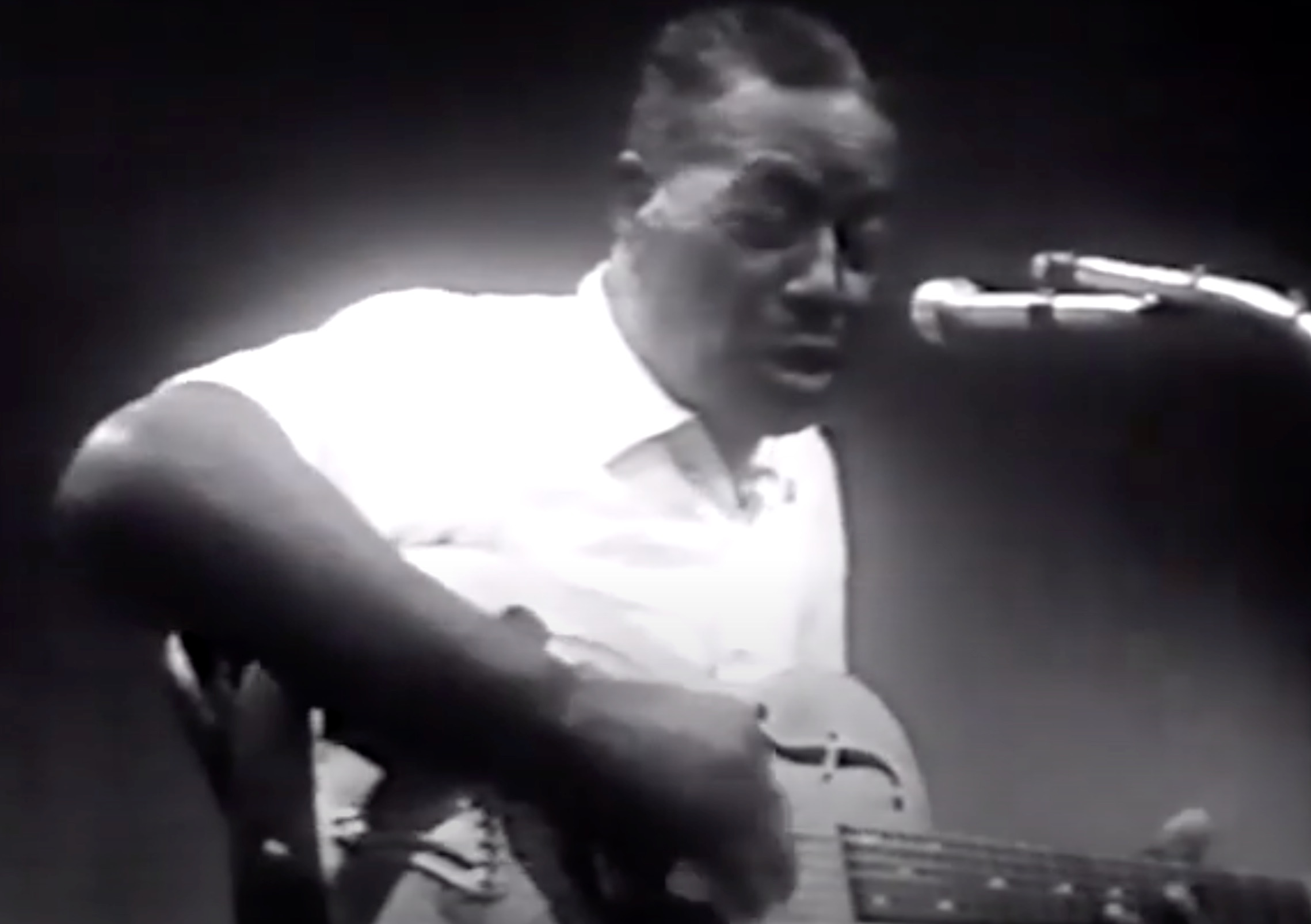 Watch blues maestros Son House and Buddy Guy on TV in 1958