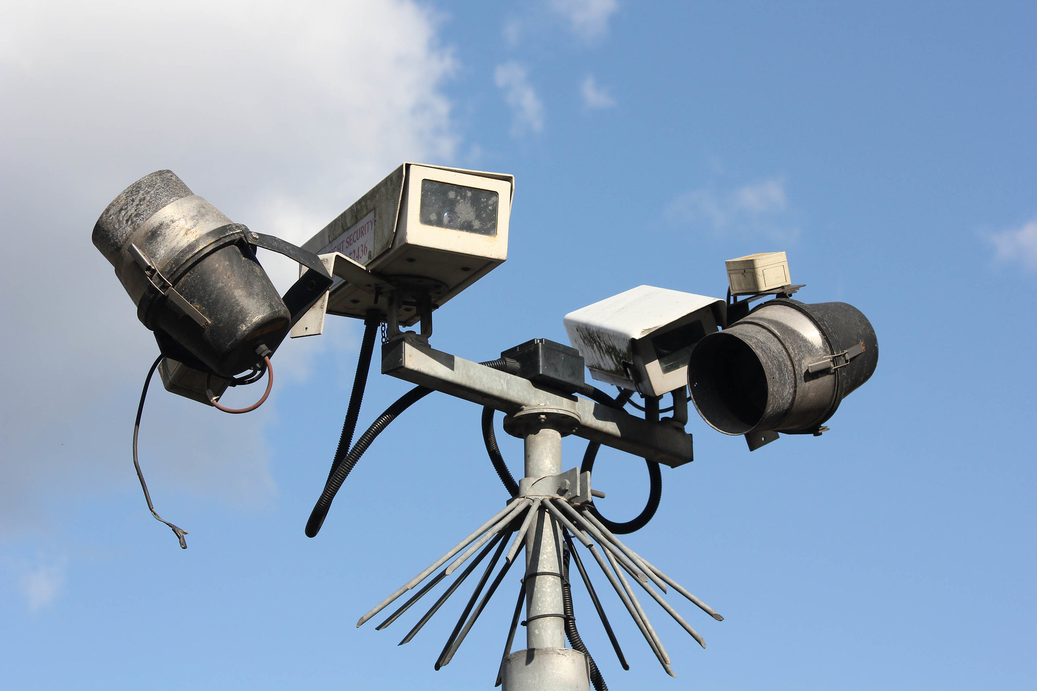 Photo of CCTV camera by Rafael Parr