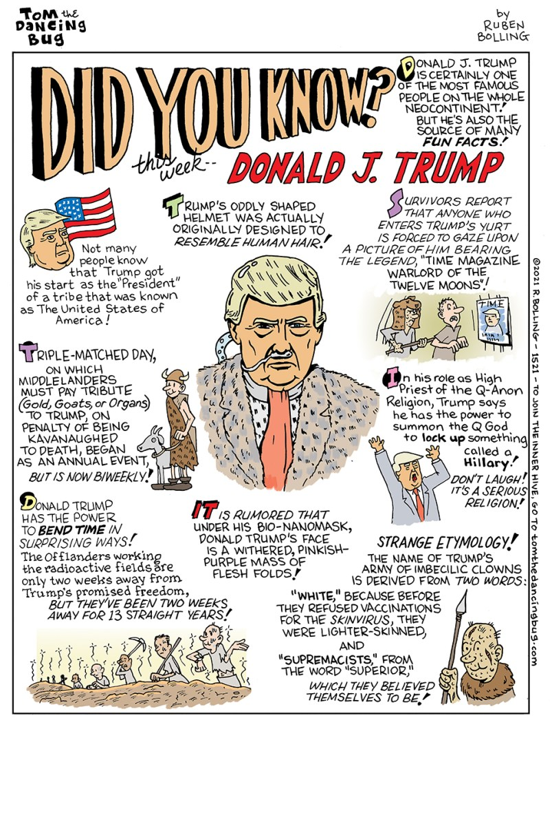 Did You Know? Fun Facts about Donald J. Trump | Boing Boing