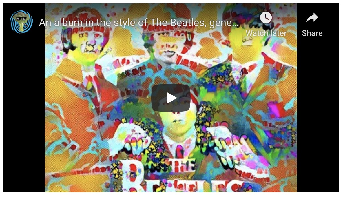 Enjoy this AI-generated album in the style of The Beatles | Boing Boing