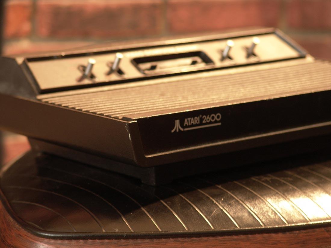 Photo of Atari 2600 machine by Chris L