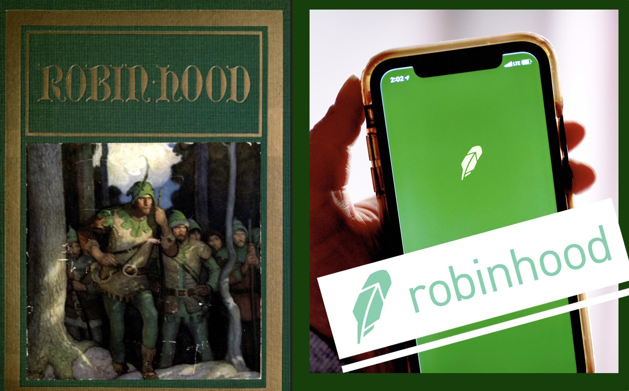 On Twitter, many follow robinhood en masse not realizing it's The ...