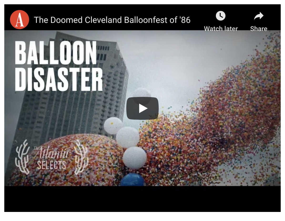 The tragic Cleveland balloon release disaster of 1986 presented in a short documentary   Boing Boing