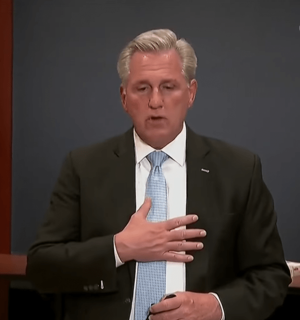 Kevin McCarthy seems to forget he denounced QAnon months ago   Boing Boing