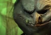 weird alien face