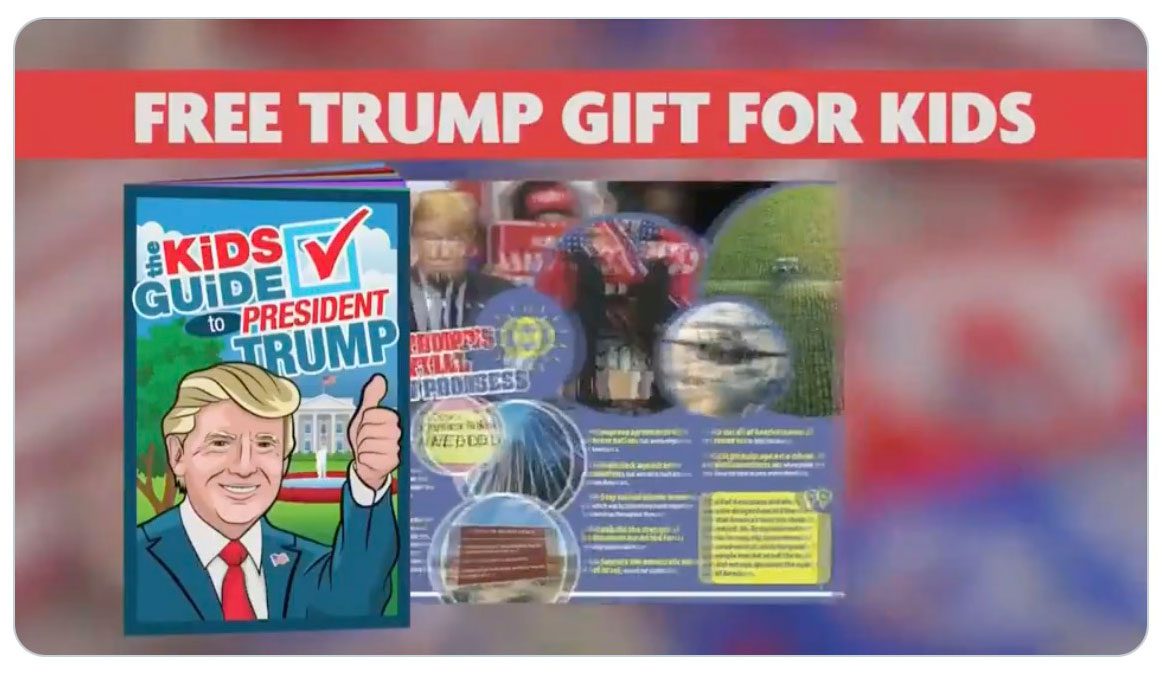 """Mike Huckabee pitches """"Free Trump gift for kids"""" which requires agreement to automatic credit card charges   Boing Boing"""