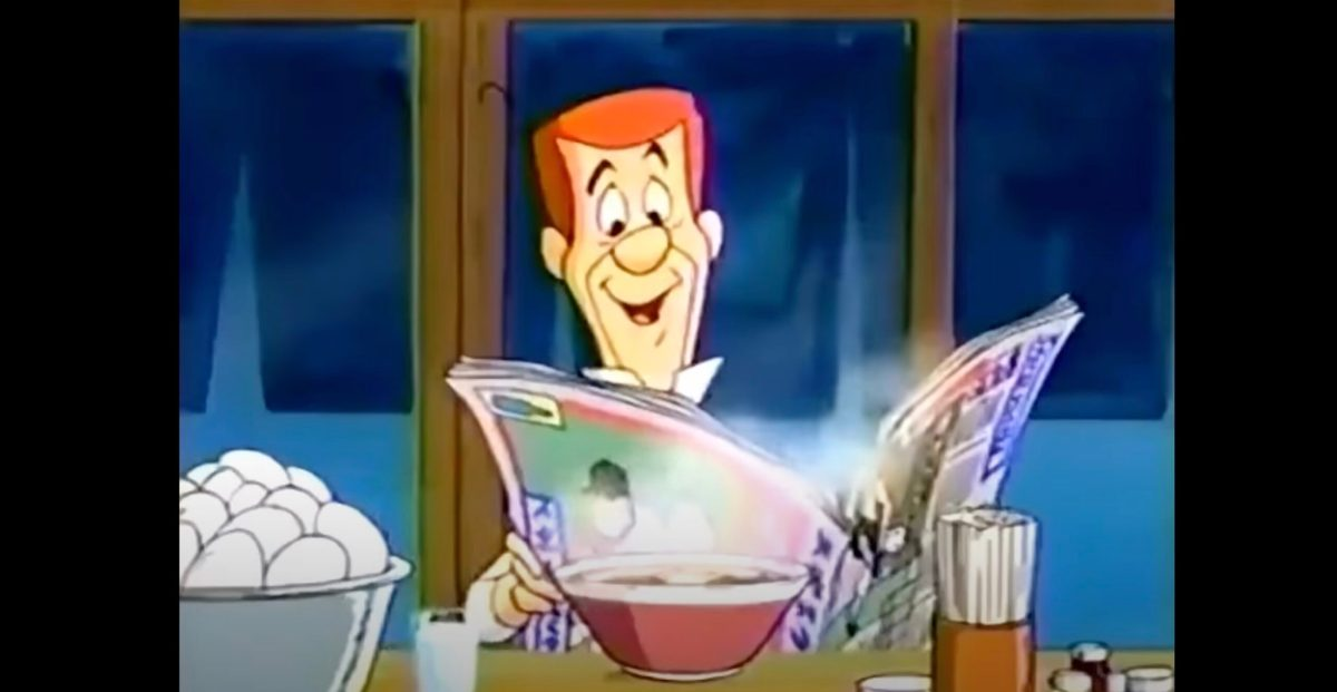 George Jetson hates anime in this Japanese Cartoon Network promo from the 1990s | Boing Boing