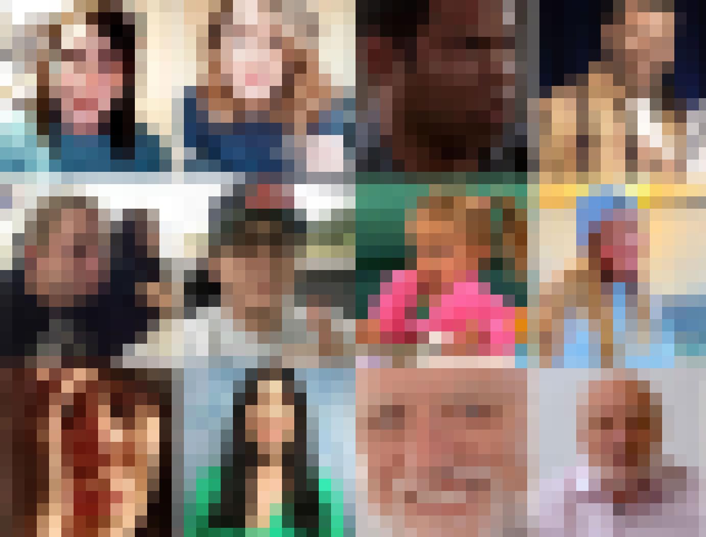 Famous meme faces: then and now