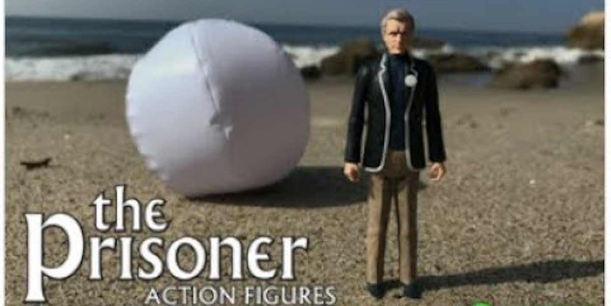 """New line of action figures for psychedelic 60s cult TV show """"The Prisoner"""""""