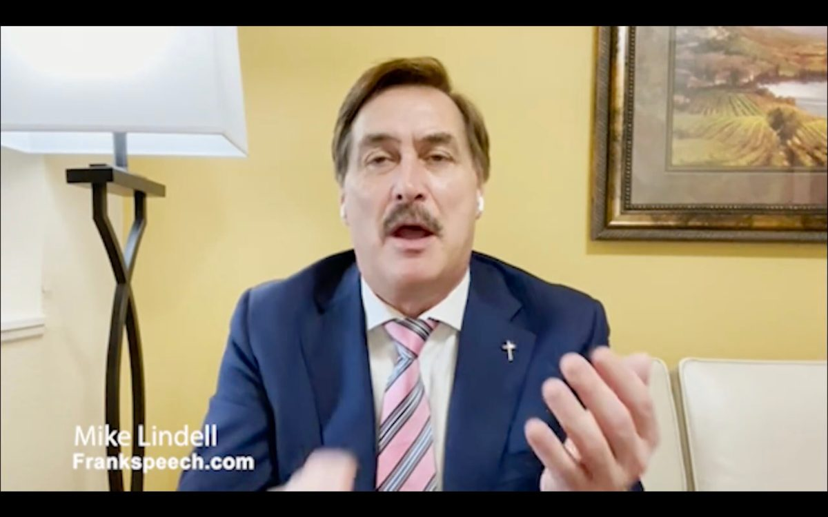 "Mike Lindell's ""free speech"" social media platform will ban free speech 