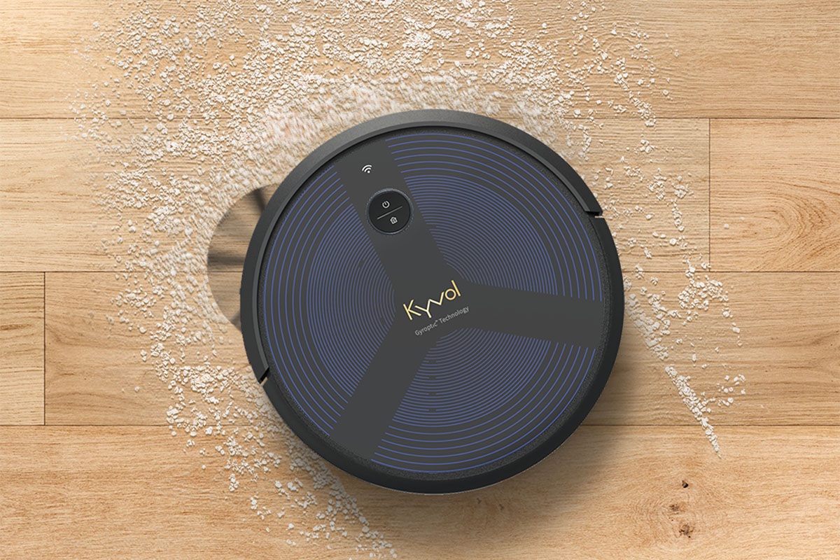 The Kyvol Cybovac D6 is a robot vacuum and mopper, all in one