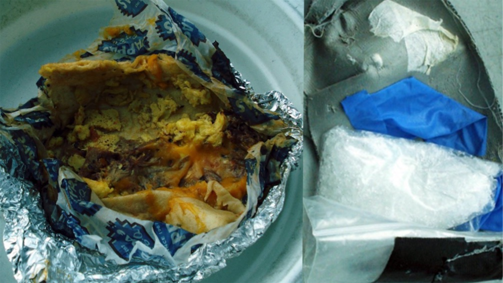 Airline passenger attempted to smuggle bag of meth inside a breakfast burrito | Boing Boing