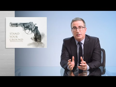 John Oliver explains 'Stand Your Ground' laws