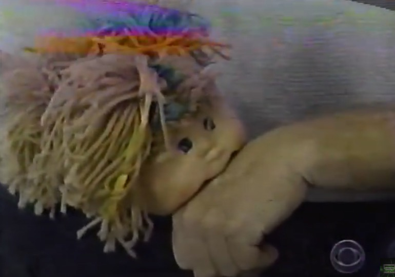 Remember the time a Cabbage Patch doll chewed a girl's hair up to her scalp and would not let go? Here's a...