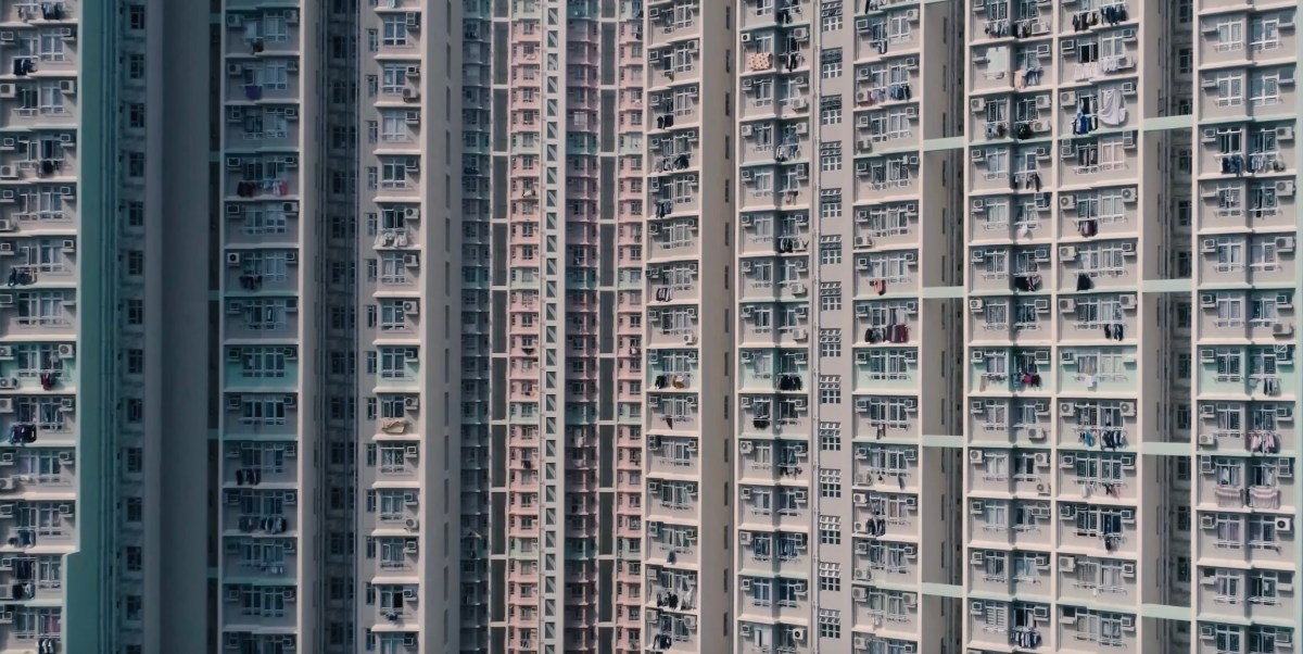 Drone film of Hong Kong's residential towers   Boing Boing