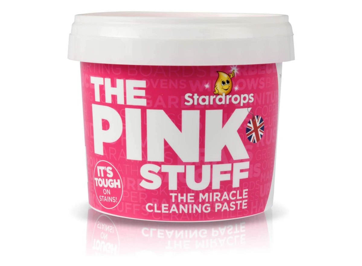 Pink Stuff Cleaning Paste works — just don't eat it | Boing Boing