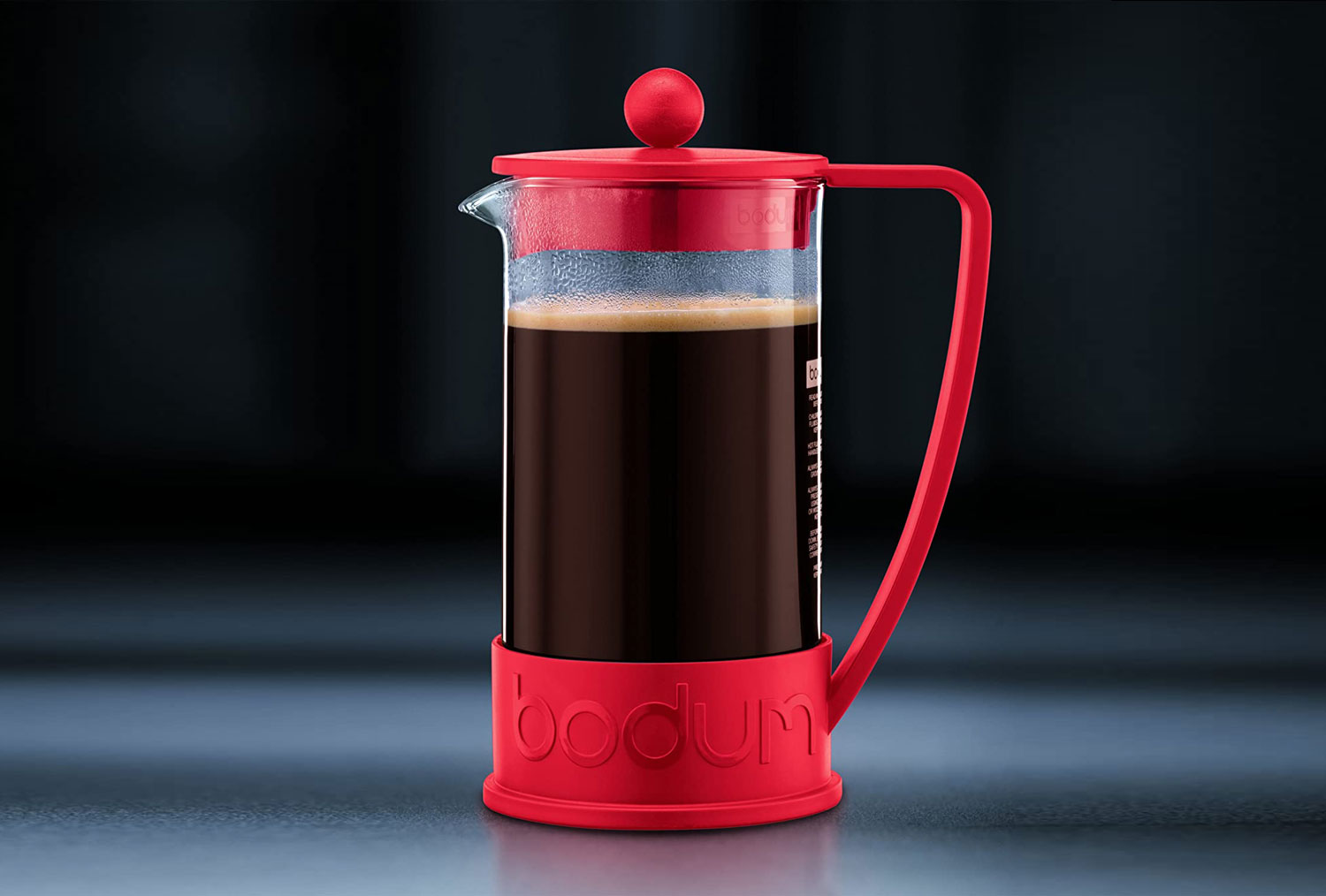 If you need to make a liter of coffee, here's a French press for you