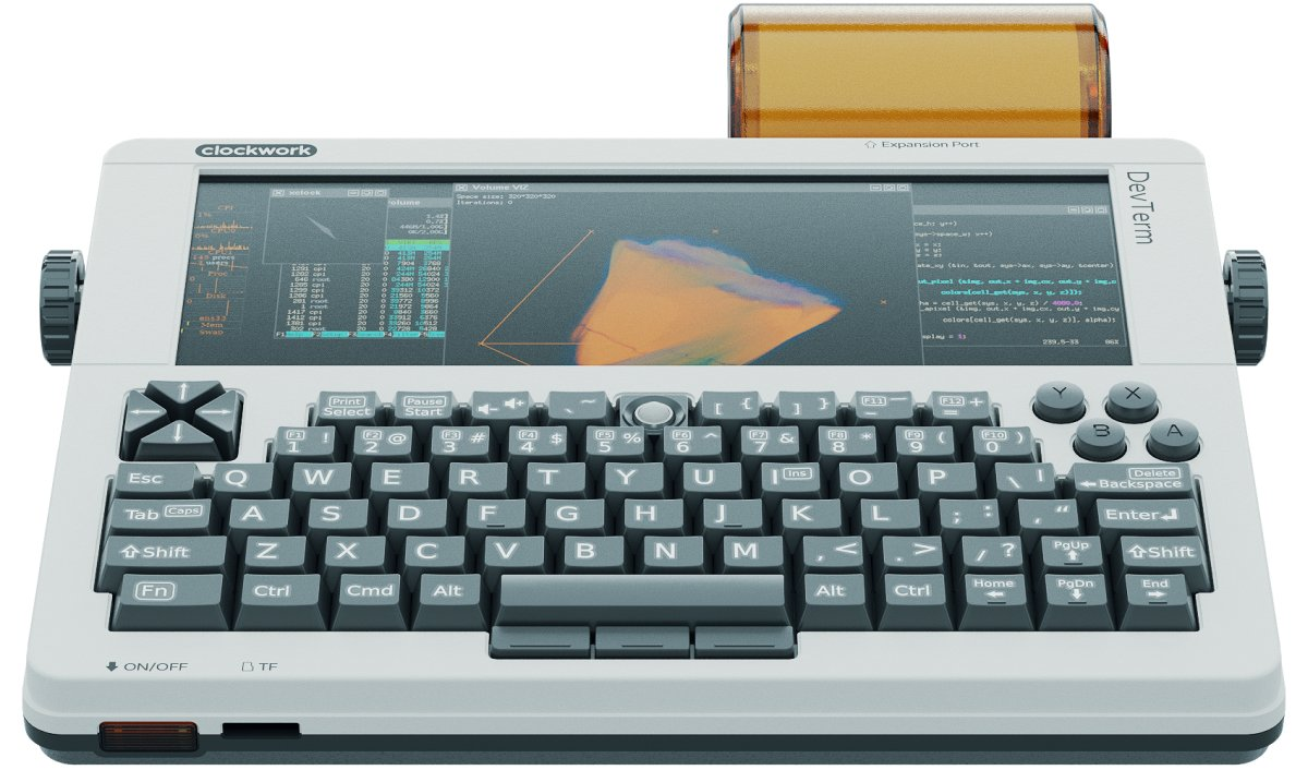 DevTerm is a portable terminal that might just be the perfect cyberdeck for sysadmins and writers too   Boing Boing