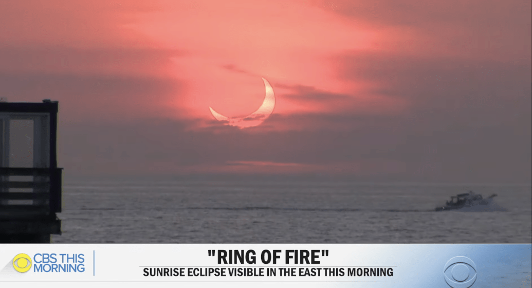 """Video: """"Ring of fire"""" solar eclipse 