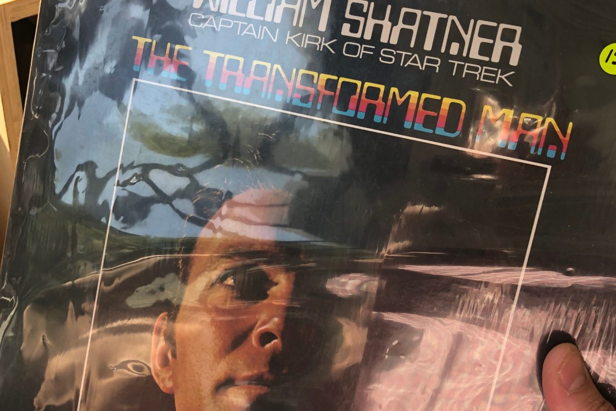 Discovering William Shatner's first spoken word album in a bakery | Boing Boing