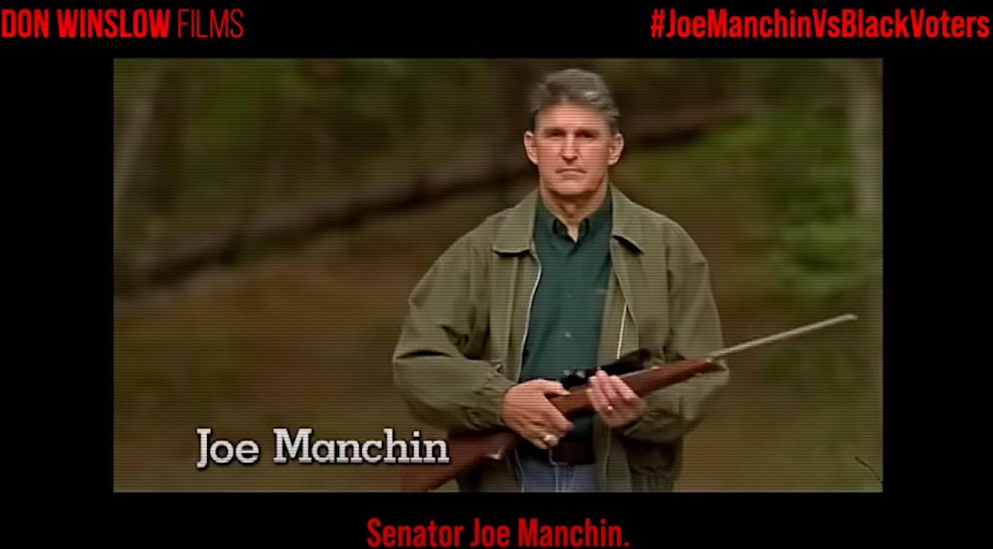"""New video demolishes Joe Manchin for """"standing with racists"""""""
