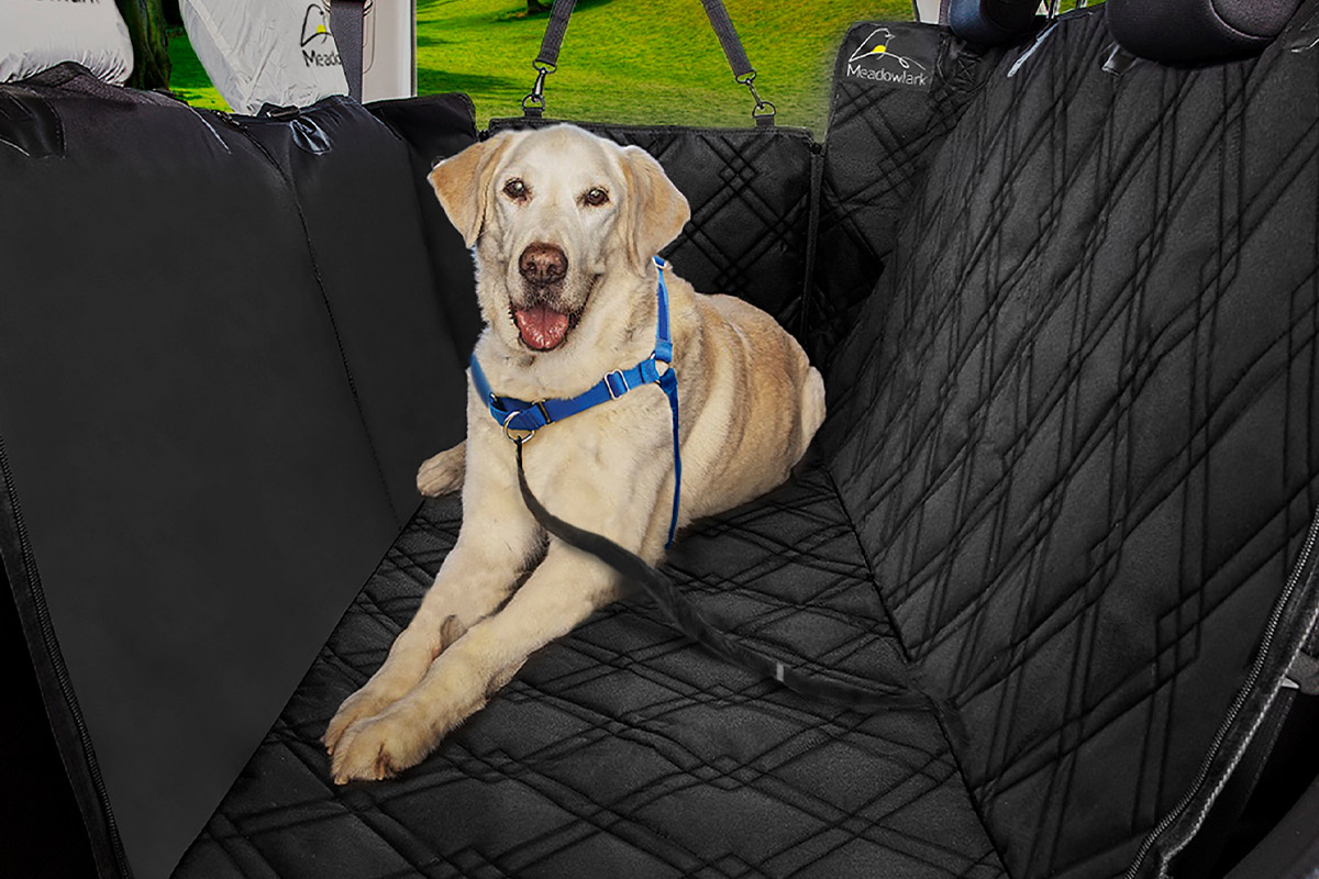 This dog hammock is the perfect blend of comfort for your dog and protection for your car | Boing Boing