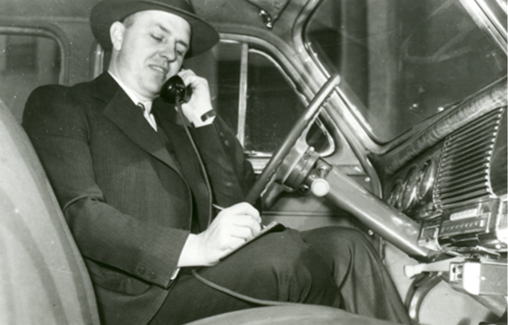 Tomorrow is the 75th anniversary of the first mobile phone call | Boing Boing