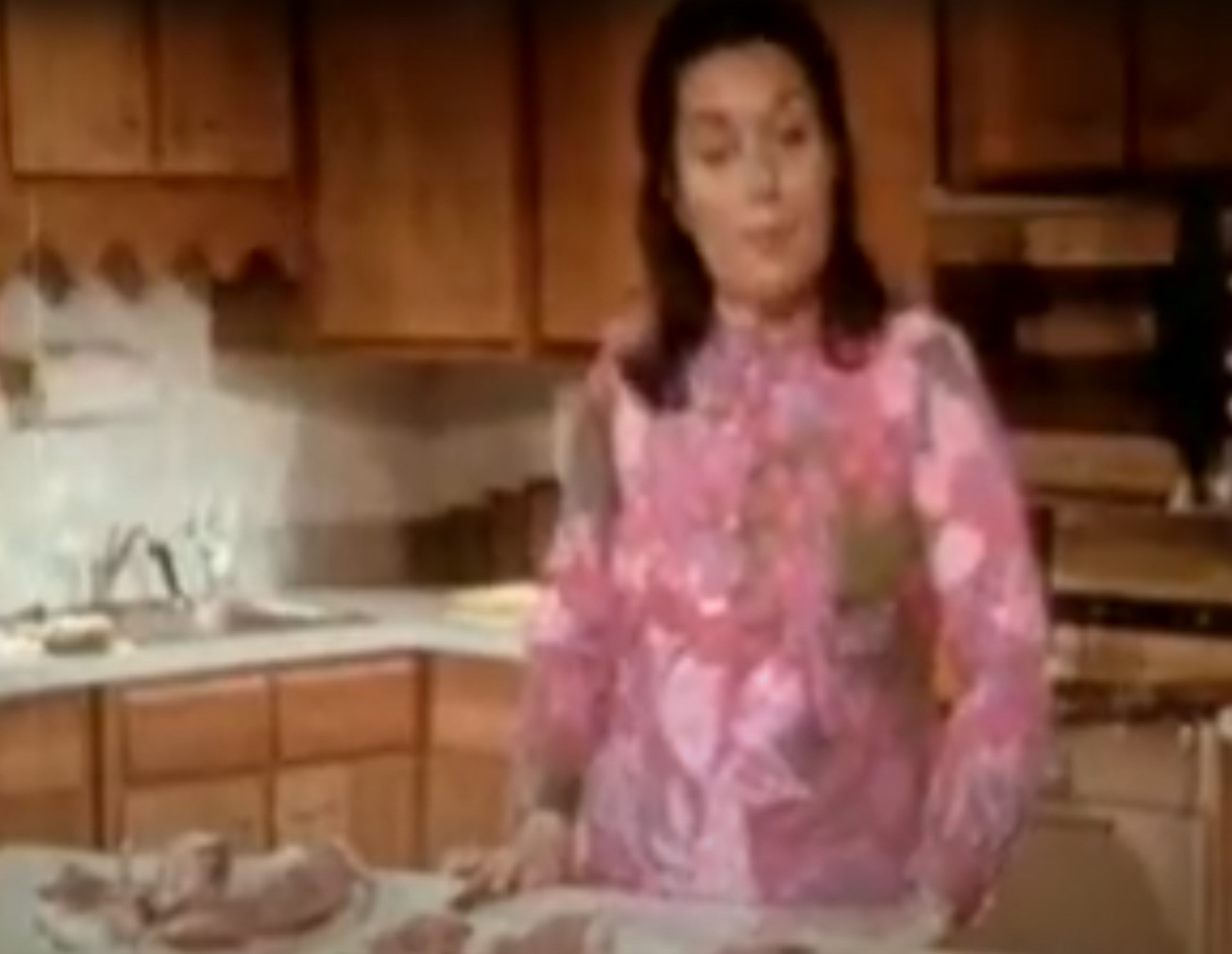 This 1970s video gives detailed advice about how to buy and prepare meat