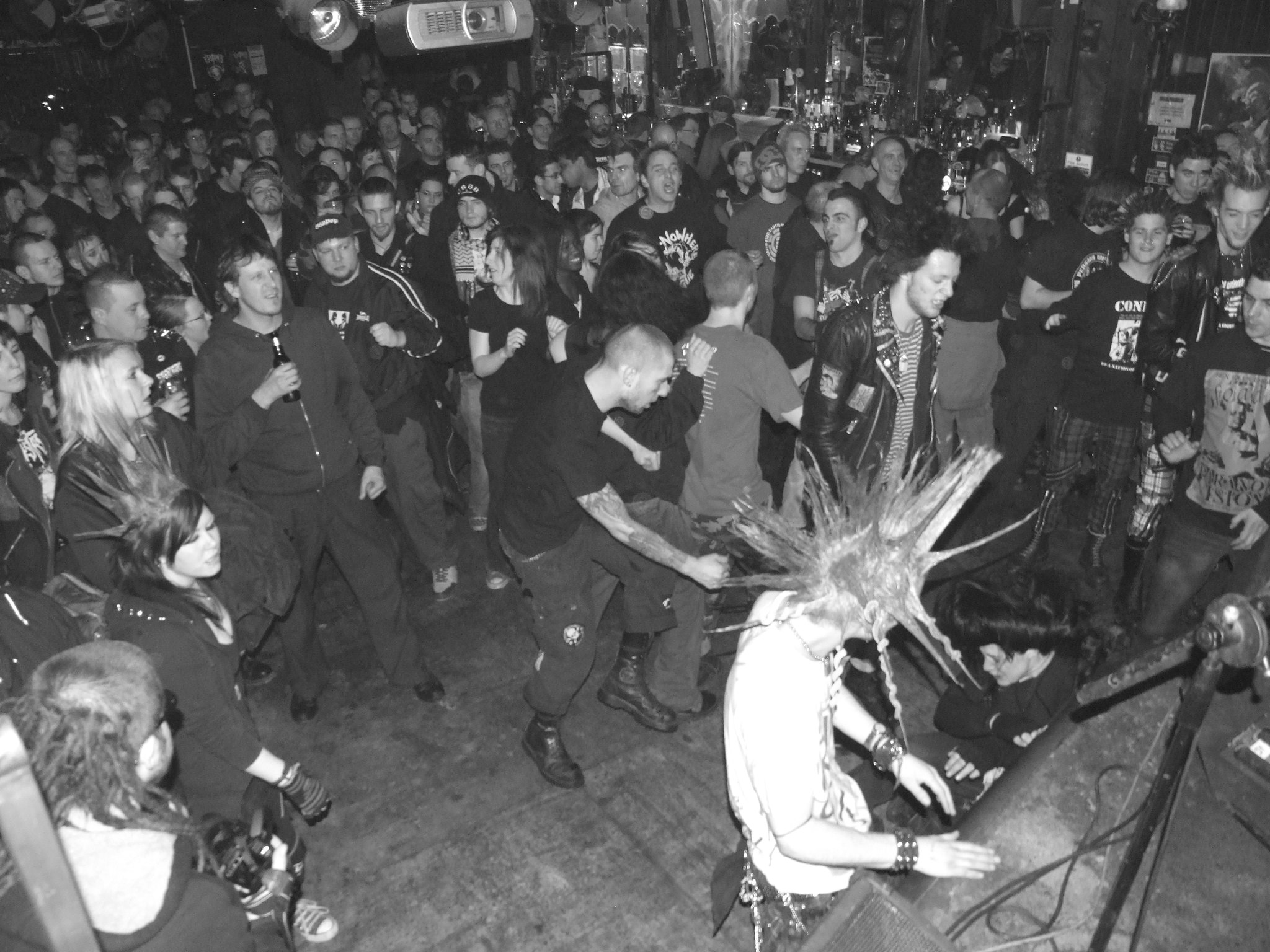 Let's open up this (brief history of the) mosh pit!