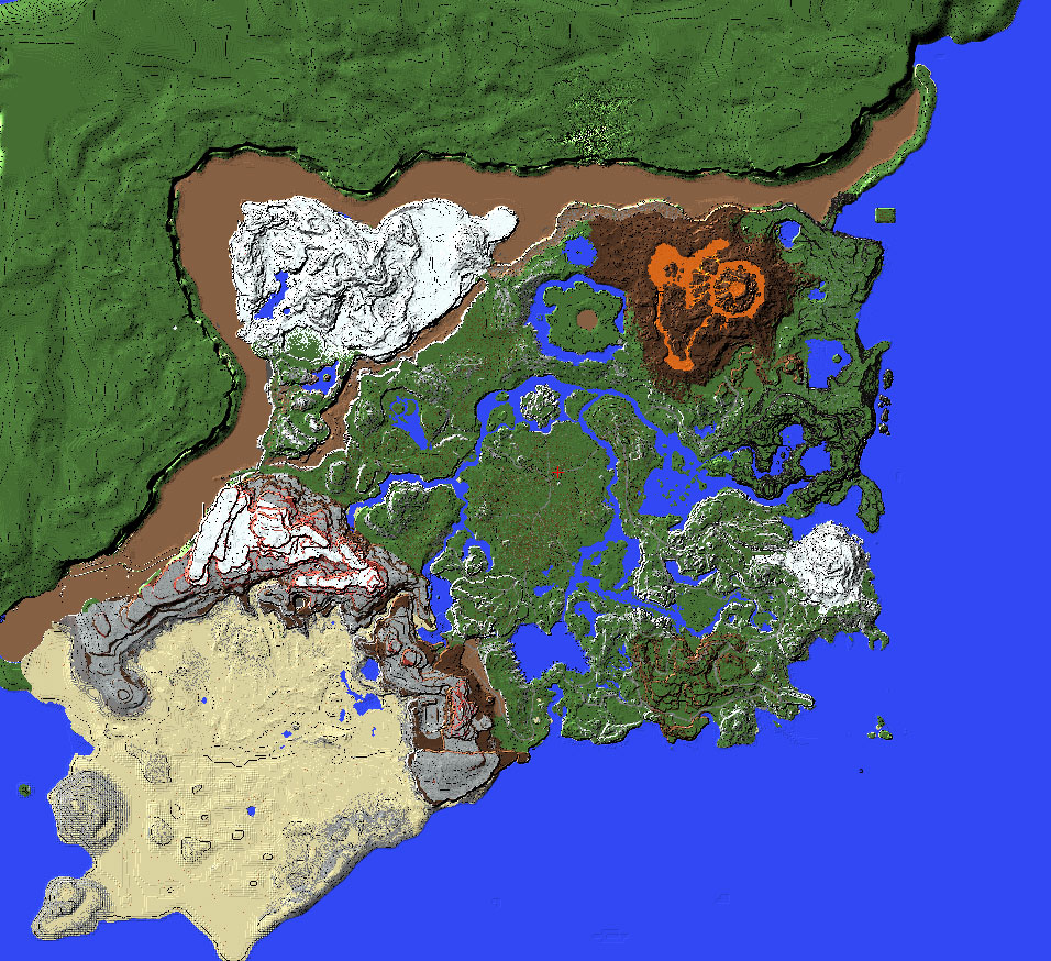 This person is recreating the entire Zelda Breath of the Wild map in Minecraft and it looks amazing | Boing Boing