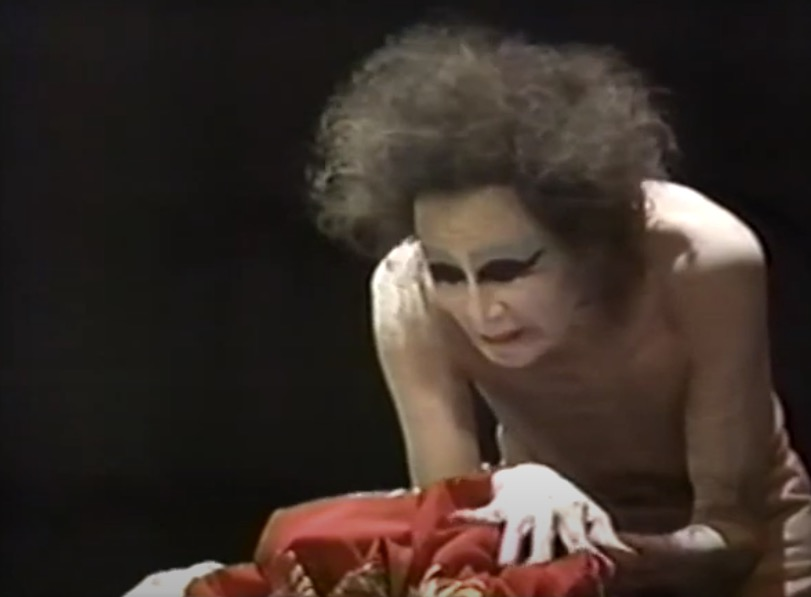 """Watch: Butoh dance cofounder Kazuo Ono performing """"My Mother"""" 