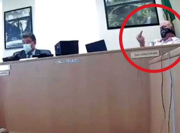 Washington State county commissioner likens mask wearing to sexual assault, flips off constituent | Boing Boing