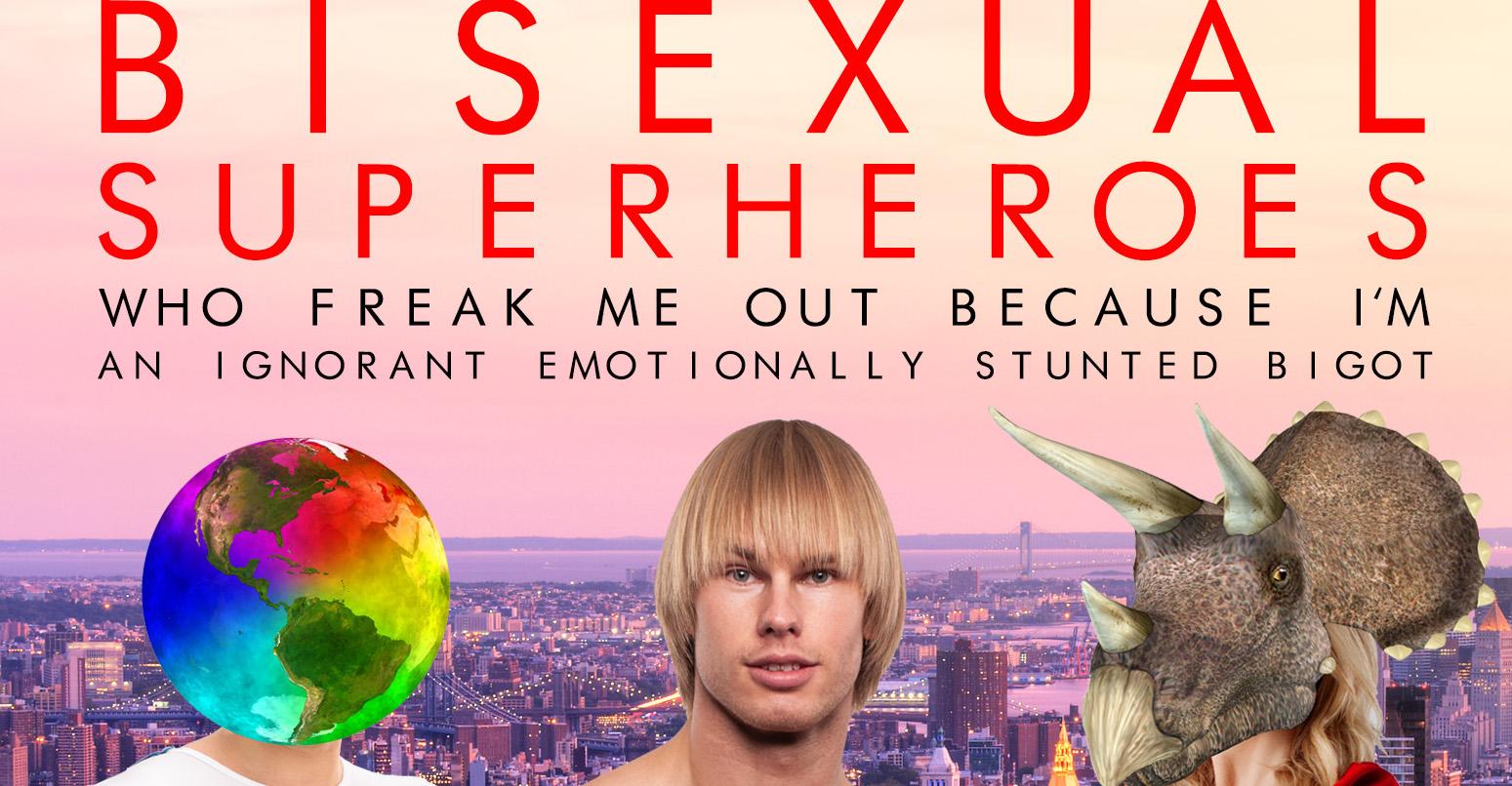 Chuck Tingle's latest mocks those angry at bisexual Superman