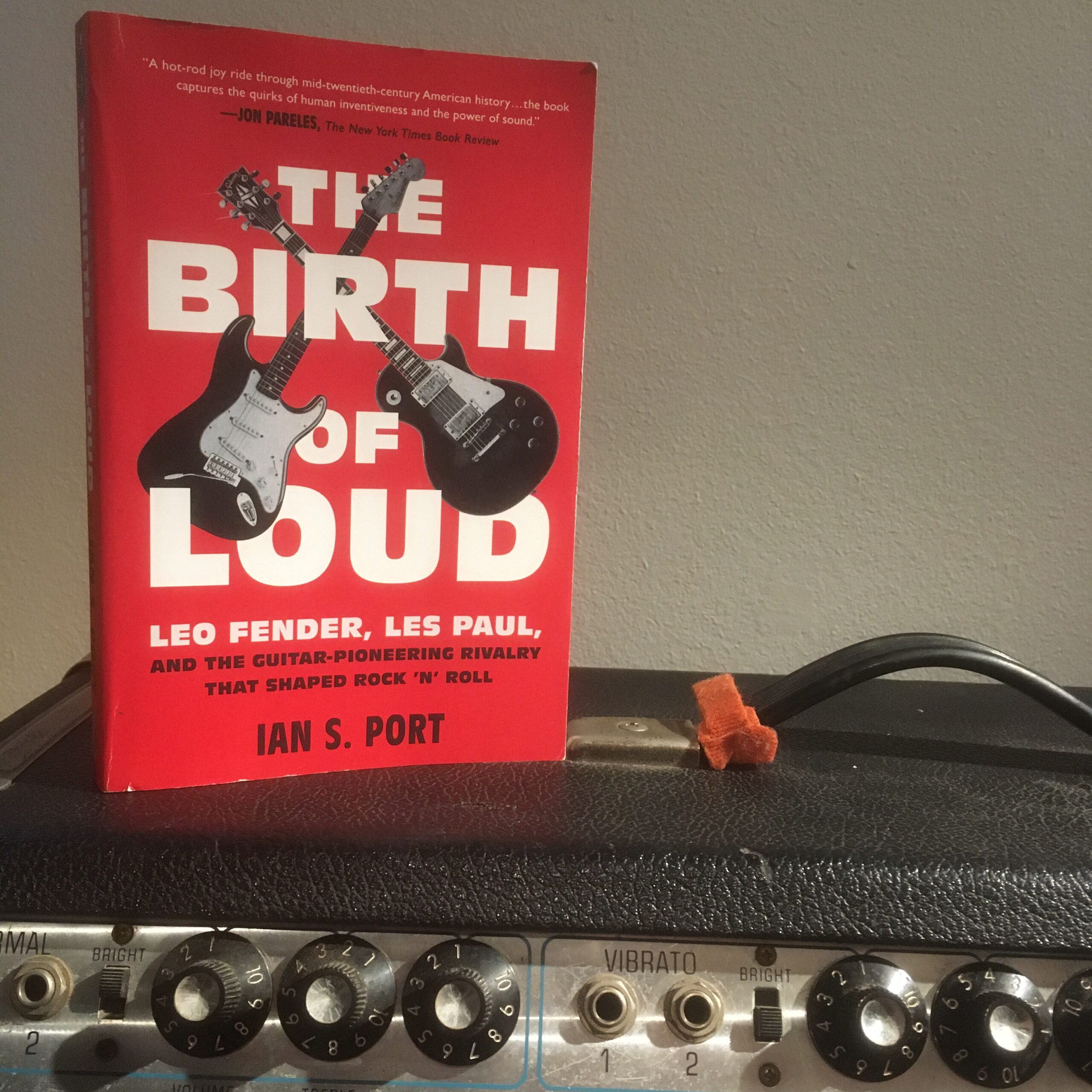 The Birth of Loud by Ian S. Sport: R&R gear history book goes to 11