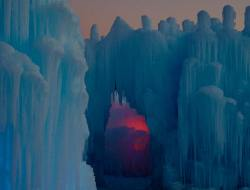 image of ice castle by Frankie Carino
