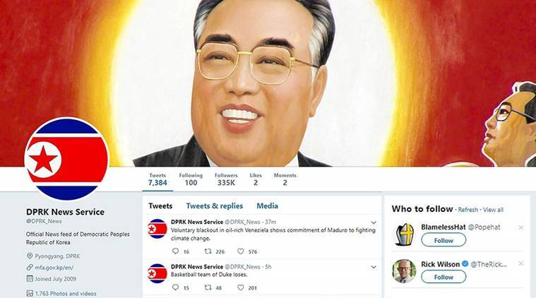Twitter bans DPRK News, famous parody account mocking North Korea's furious yet florid news agency   Boing Boing