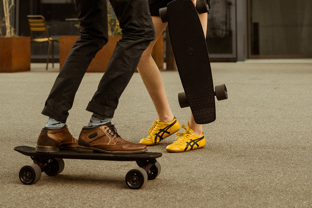 Glide through the city with $400 off this electric skateboard