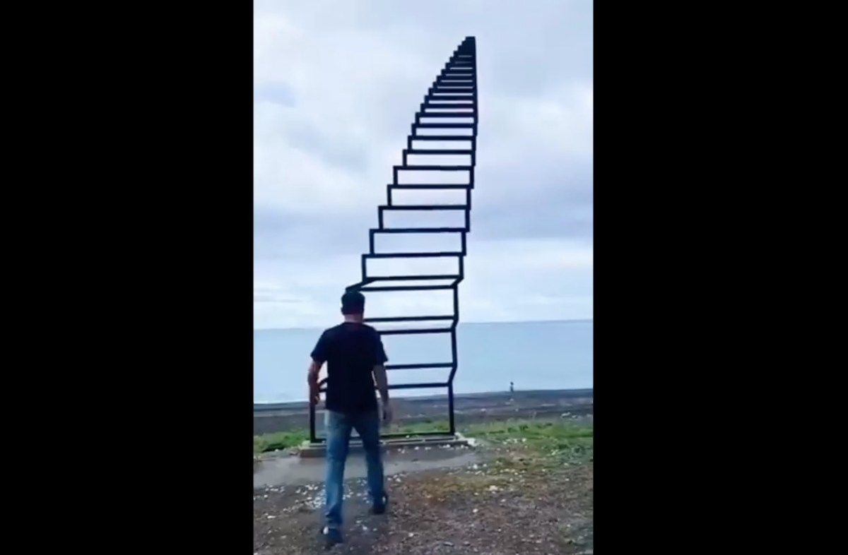 """This """"Staircase to Heaven"""" is actually just a beautiful illusion 