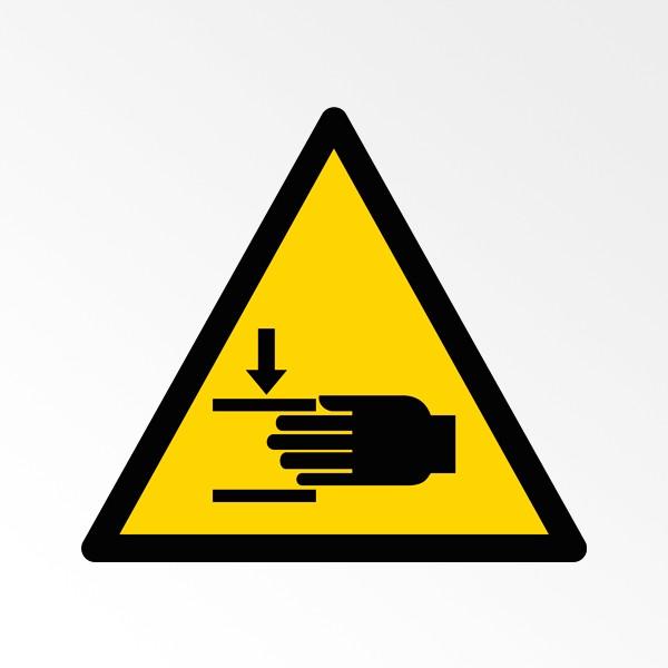 Danger d'écrasement