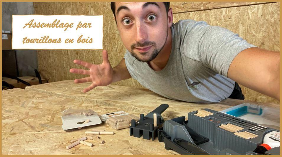 Apprendre à utiliser les tourillons en bois !